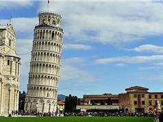 Tháp nghiêng Pisa đang dần đứng thẳng