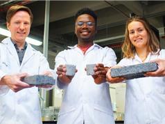 Viên gạch làm bằng nước tiểu đầu tiên trên thế giới