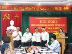 Hà Nội: Công bố và trao văn bằng bảo hộ cho 3 nhãn hiệu tập thể huyện Thường Tín
