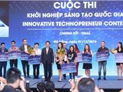 Abivin nhận giải nhất Cuộc thi khởi nghiệp sáng tạo quốc gia năm 2018