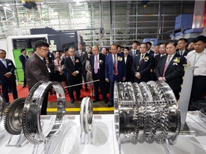 Những hình đầu tiên về nhà máy sản xuất động cơ hàng không đầu tiên ở Việt Nam