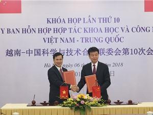 Việt Nam – Trung Quốc sẽ mở rộng hợp tác về KH&CN và đổi mới sáng tạo