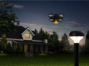 Drone do thám canh giữ nhà cho người giàu