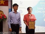 Bài giảng sáng tạo đoạt giải Nhất cuộc thi Sáng kiến cộng đồng