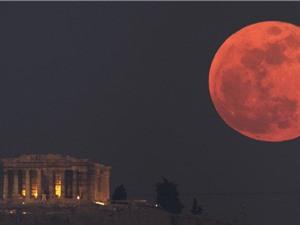 Siêu trăng và nguyệt thực sắp xuất hiện cùng lúc