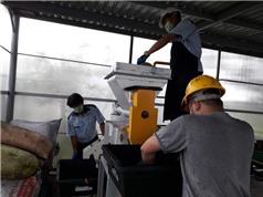 Thử nghiệm công nghệ xử lý rác thải hữu cơ tái tạo năng lượng của Nhật Bản