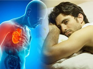 Ngủ ít hơn 6 tiếng vào ban đêm làm tăng nguy cơ mắc bệnh tim
