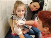 Số ca bệnh sởi tăng gấp ba lần ở châu Âu