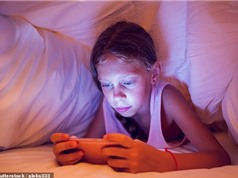Trẻ em đang sử dụng điện thoại nhiều hơn là nói chuyện với bố mẹ