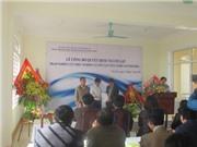 Nghệ An: Lễ công bố quyết định thành lập trạm nghiên cứu thực nghiệm và ươm tạo công nghệ cao Thái Hòa