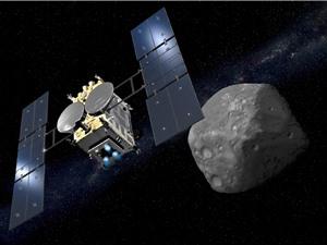 Tàu vũ trụ Nhật Bản lấy mẫu đá trên tiểu hành tinh Ryugu