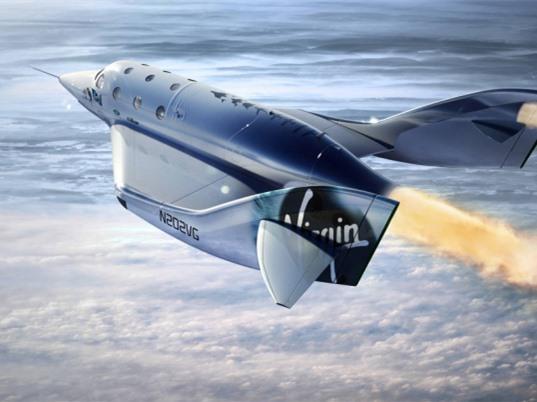 Phi thuyền du lịch của Virgin Galactic thiết lập kỷ lục mới về độ cao