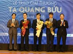 8 đề cử cho Giải thưởng Tạ Quang Bửu năm 2019