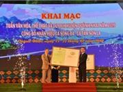 """Sơn La: Công bố nhãn hiệu chứng nhận """"Cá Sông Đà Sơn La"""" - """"Cá Tầm Sơn La"""""""