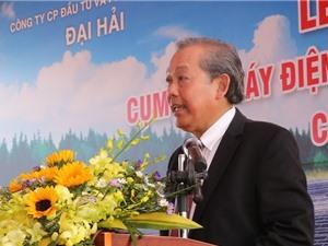 Phó Thủ tướng dự Lễ khánh thành cụm nhà máy điện mặt trời lớn nhất Việt Nam