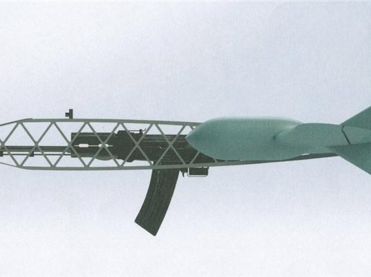 Nga phát minh drone tích hợp súng trường