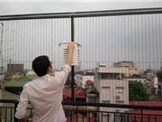 Lắp đặt mạng lưới FairKit giám sát bụi mịn trong không khí Hà Nội