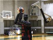Robot bóng rổ chuyên ném 3 điểm của Toyota