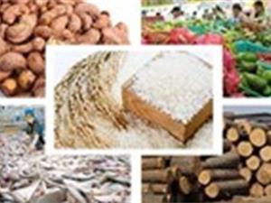 Xuất khẩu nông lâm thuỷ sản đạt 8,8 tỷ USD