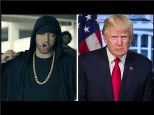 Nghe AI giả làm tổng thống Trump hát ca khúc của Eminem