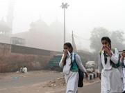 Ô nhiễm không khí là làm giảm tuổi thọ của trẻ em trên thế giới tới gần 2 năm