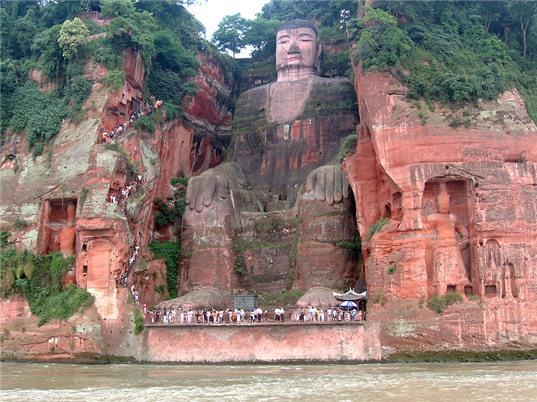 Tượng Phật bằng đá lớn nhất thế giới