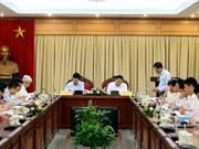 Tiểu ban Văn kiện Đại hội XIII của Đảng làm việc  với Ban cán sự Đảng Bộ KH&CN