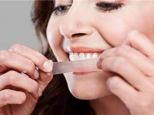 Miếng dán làm trắng có thể gây hại cho răng