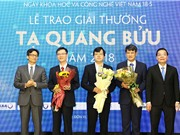 Giải thưởng Tạ Quang Bửu 2019: Nhiều điểm mới