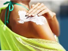 Hóa chất trong mỹ phẩm chống nắng có thể ngấm vào máu