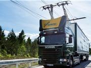 Đức triển khai cáp trên xa lộ để sạc cho xe tải điện