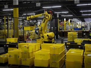 Amazon đã có robot tự đóng gói đơn hàng