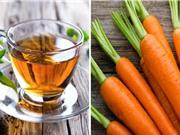 Trà xanh và cà rốt có thể giúp điều trị bệnh Alzheimer