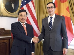 Việt Nam, Hoa Kỳ thúc đẩy hợp tác nhiều lĩnh vực