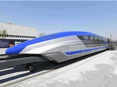 Tàu siêu tốc đệm từ mới của Trung Quốc có thể đạt vận tốc 600 km/h