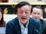 Ông chủ Huawei: Chúng tôi đi trước Mỹ về công nghệ và Trung Quốc sẽ không trả đũa Apple đâu