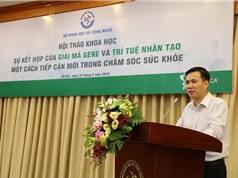 Thúc đẩy nghiên cứu giải trình tự gene người Việt