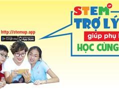 Ra mắt ứng dụng giúp cha mẹ học cùng con theo phong cách giáo dục STEM