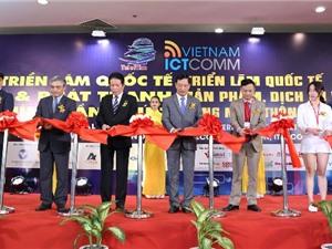 Khai mạc triển lãm quốc tế Vietnam ICT COMM 2019