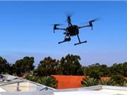 Drone né tránh chướng ngại vật tài tình