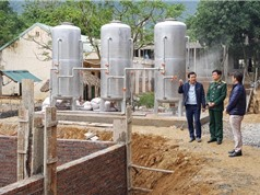 Chương trình Tây Bắc tại Hà Giang: Cần nhân rộng mô hình ứng dụng công nghệ màng lọc xử lý nước suối sinh hoạt cho người dân vùng núi