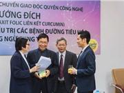 """Nano curcumin công nghệ hướng đích: Thành công trong hợp tác """"ba bên"""""""