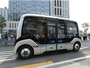 Trung Quốc chạy thử nghiệm xe buýt 5G không người lái