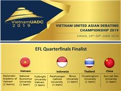 Sinh viên Việt Nam gây bất ngờ tại giải tranh biện châu Á