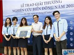 Trao giải thưởng Nghiên cứu Biển Đông năm 2018