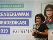Giải thưởng Học giả cống hiến Indonesia 2019: Khoa học hãy rời khỏi tháp ngà