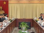 Việt Nam - Thụy Sỹ:  Tăng cường các chương trình nghiên cứu chung về KH&CN