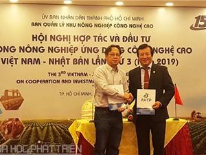 TPHCM hợp tác với Nhật Bản về nông nghiệp công nghệ cao