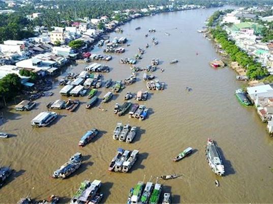 Thời tiết khô nóng, Trung Quốc giảm lưu lượng xả nước, nước sông Mê Kông thấp kỷ lục