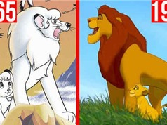 """Lion King – Vị vua """"giả mạo"""" của Disney: Tên nhân vật, cốt truyện, tạo hình… đều """"xài chùa"""" từ bộ Anime Nhật 30 năm trước?"""